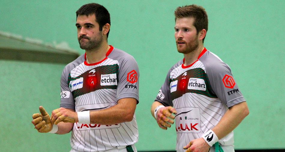 Baptiste Ducassou et Julien Etchegaray