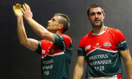 Etchegaray-Bilbao s'offrent les Masters d'Hasparren