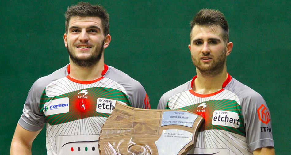 Etcheverry-Larralde remportent la Coupe des chasseurs