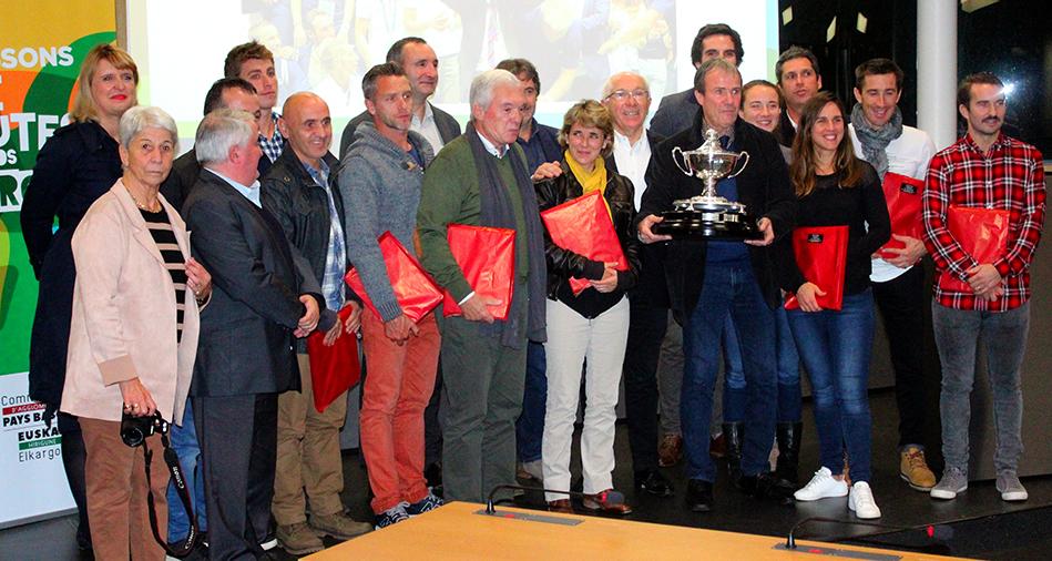 Les champions du monde reçus à Bayonne