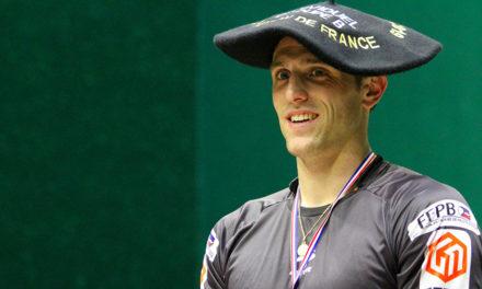 Alexis Inchauspé champion du groupe B