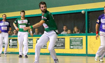 Etcheverry-Ducassou battent les tenants du titre