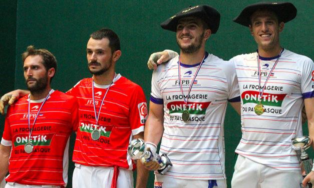 Inchauspé-Larralde champions du groupe B