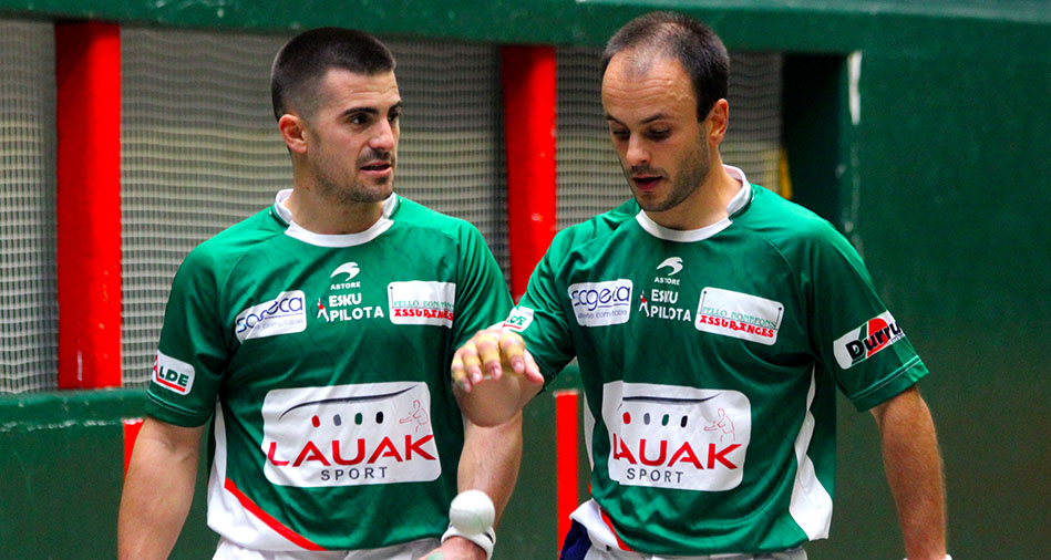 Ziarrusta-Ugarte et Darmendrail-Alcasena en demi-finale